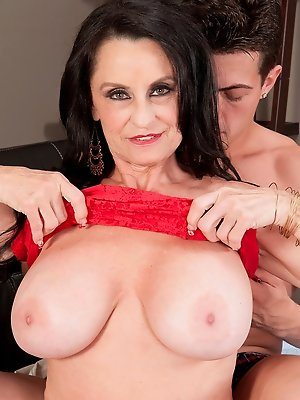 Rita And Her Son's Big-dicked Friend